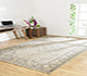 Jaipur Rugs - Hand Knotted Wool Grey and Black PKWL-6202 Area Rug Roomscene shot - RUG1049632