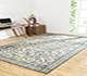 Jaipur Rugs - Hand Knotted Wool Ivory PKWL-6204 Area Rug Roomscene shot - RUG1063595