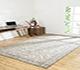 Jaipur Rugs - Hand Knotted Wool Ivory PKWL-9001 Area Rug Roomscene shot - RUG1063574