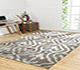 Jaipur Rugs - Hand Knotted Wool and Viscose Beige and Brown PKWV-20 Area Rug Roomscene shot - RUG1033794