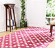 Jaipur Rugs - Hand Tufted Wool Pink and Purple PTWL-46 Area Rug Roomscene shot - RUG1049951