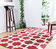 Jaipur Rugs - Hand Tufted Wool Red and Orange PTWL-50 Area Rug Roomscene shot - RUG1049972
