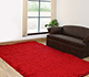 Jaipur Rugs - Shag Synthetic Fiber Red and Orange PX-1371 Area Rug Roomscene shot - RUG1038638