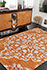 Jaipur Rugs - Hand Knotted Wool and Viscose Red and Orange PX-2139 Area Rug Roomscene shot - RUG1033756
