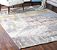Jaipur Rugs - Hand Knotted Wool and Bamboo Silk Ivory SRB-709 Area Rug Roomscene shot - RUG1074096