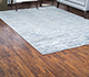 Jaipur Rugs - Hand Knotted Wool and Bamboo Silk Grey and Black SRB-712 Area Rug Roomscene shot - RUG1074149