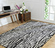 Jaipur Rugs - Hand Tufted Wool Grey and Black TAC-1001 Area Rug Roomscene shot - RUG1060533