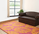 Jaipur Rugs - Hand Tufted Wool Pink and Purple TAC-399 Area Rug Roomscene shot - RUG1030110