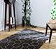 Jaipur Rugs - Hand Tufted Wool Grey and Black TAC-412 Area Rug Roomscene shot - RUG1030256