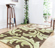 Jaipur Rugs - Hand Tufted Wool and Viscose Beige and Brown TAQ-111 Area Rug Roomscene shot - RUG1030852