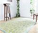 Jaipur Rugs - Hand Tufted Wool and Viscose Ivory TAQ-2258 Area Rug Roomscene shot - RUG1031073