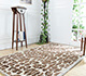 Jaipur Rugs - Hand Tufted Wool and Viscose Ivory TAQ-2258 Area Rug Roomscene shot - RUG1031074