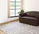 Jaipur Rugs - Hand Tufted Wool and Viscose Grey and Black TAQ-234 Area Rug Roomscene shot - RUG1031275