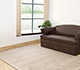 Jaipur Rugs - Hand Tufted Wool and Viscose Beige and Brown TAQ-327 Area Rug Roomscene shot - RUG1058593