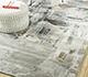 Jaipur Rugs - Hand Tufted Wool and Viscose Grey and Black TAQ-4307 Area Rug Roomscene shot - RUG1092745