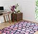 Jaipur Rugs - Hand Tufted Wool and Viscose Blue TAQ-436 Area Rug Roomscene shot - RUG1067176