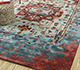 Jaipur Rugs - Hand Tufted Wool and Viscose Blue TAQ-631 Area Rug Roomscene shot - RUG1090558