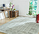 Jaipur Rugs - Hand Tufted Wool and Viscose Grey and Black TRA-352 Area Rug Roomscene shot - RUG1083370