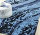 Jaipur Rugs - Hand Tufted Wool and Viscose Blue TRA-488 Area Rug Roomscene shot - RUG1094955