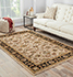 Jaipur Rugs - Hand Tufted Wool Beige and Brown TRC-138 Area Rug Roomscene shot - RUG1037660