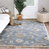 Jaipur Rugs - Hand Tufted Wool Blue TRC-626 Area Rug Roomscene shot - RUG1095639