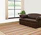 Jaipur Rugs - Flat Weave Cotton Green TX-281 Area Rug Roomscene shot - RUG1033319