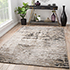 Jaipur Rugs - Hand Knotted Wool and Bamboo Silk Grey and Black USL-155 Area Rug Roomscene shot - RUG1077416