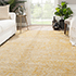 Jaipur Rugs - Hand Knotted Wool and Bamboo Silk Beige and Brown ESK-632 Area Rug Roomscene shot - RUG1058434